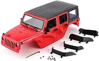 Rodalind Car Shell Body for 313mm Wheelbase for 1/10 Wrangler Axial SCX10 RC Crawler
