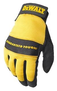 Dewalt DPG20M All Purpose Synthetic Leather Palm Spandex Back Velcro Wrist Work Glove, Medium (B000FPAS7U) | Amazon price tracker / tracking, Amazon price history charts, Amazon price watches, Amazon price drop alerts