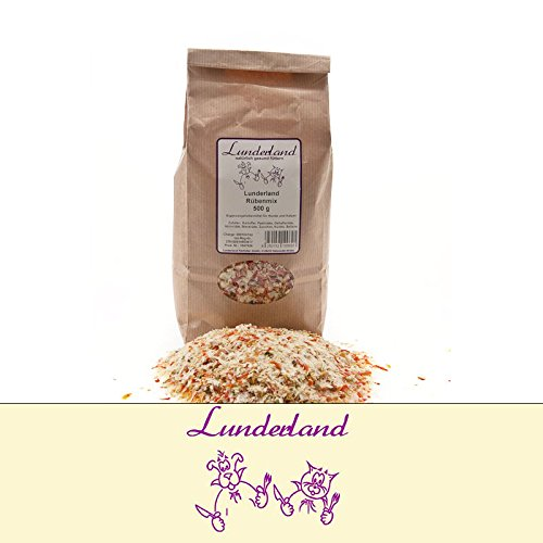 Lunderland Rübenmix 500g getreidefreier Mix für Hunde und Katzen