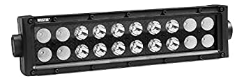 Westin 09-12212-20C B-Force Black Face 10 inch Double Row LED Light Bar with Combo Beam