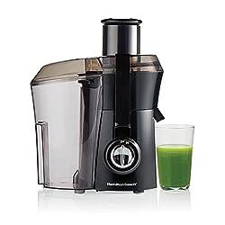 Hamilton-Beach 67601A Big Mouth Juice Extractor, Black: Amazon.ca: Home & Kitchen