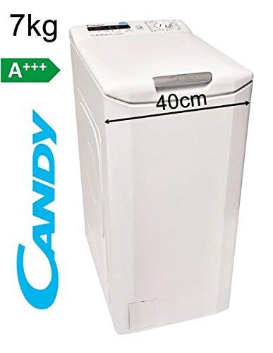 Candy GrandÓ Vita Toplader-Waschmaschine CVS GTG374DM/1-84, Füllmenge 7 kg, EEK A+++, 17...