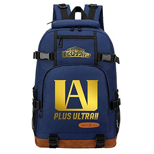 NLJ-lug Backpack Teenage Boy Girl Backpack Women Men Backpack Book Bag Rucksack Backpack Travel Bag My Hero Academia