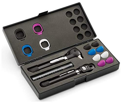 Welch Allyn 92880-BLK Pocketplus LED Diagnostic Set, Black, Shape