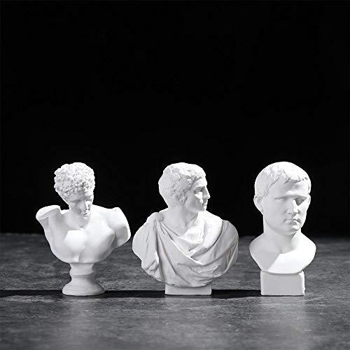 Kit Sin Montar Y Sin Pintar CHOUDOUFU Estatua Escultura Adorno 1//10 Tribuna Romana Figura Hist/órica Figura Modelo De Resina Busto Gk