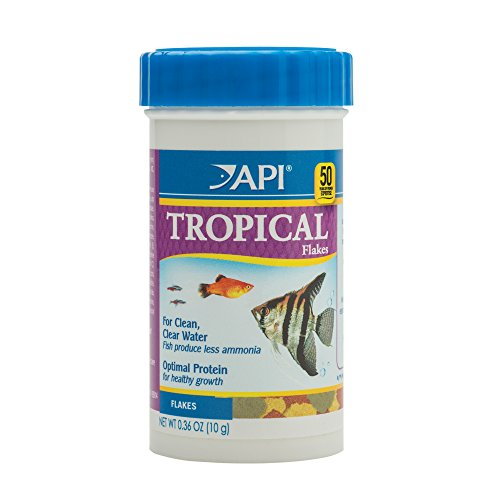 API Tropical Flakes Fish Food .36 oz Container