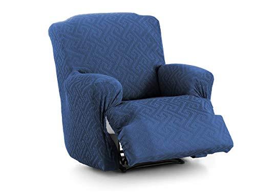 Lanovenanube - Funda Sillón Relax Pies Juntos Arion - Color Azul C03