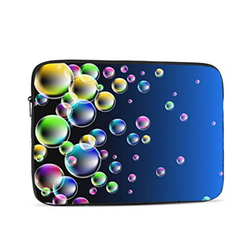 13 In Laptop Case Colorful Balls Floating On The Blue Pool Macbook Air 2018 Case Multi-Color & Size Choices10/12/13/15/17 Inch Computer Tablet Briefcase Carrying Bag