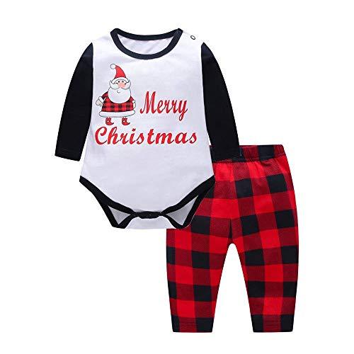 Pijama de Navidad Familia de manga larga con impresin de Mono Familia Navidad para la noche Ropa de Navidad Ideal para Pap Mam Bebs Nios Otoo e invierno