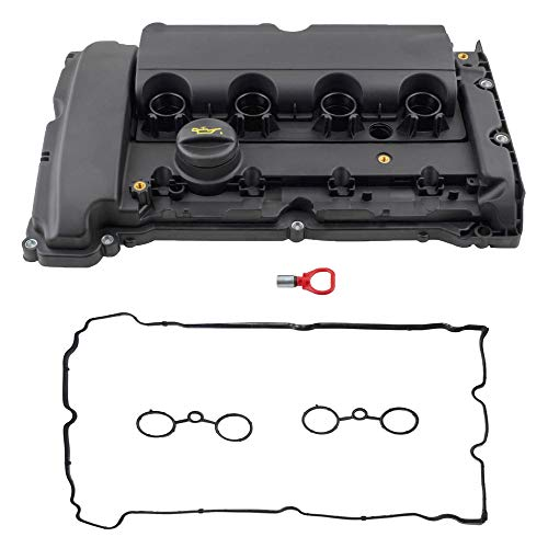 BOXI Valve Cover with Gasket Fits 2007 2008 2009 2010 2011 2012 Mini Cooper S JCW R55 R56 R57 R60 1.6L N14 (Replaces 11127646555 11127561714)