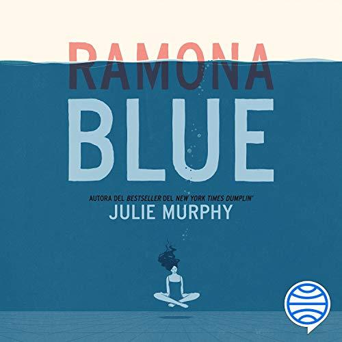 Diseño de la portada del título Ramona Blue