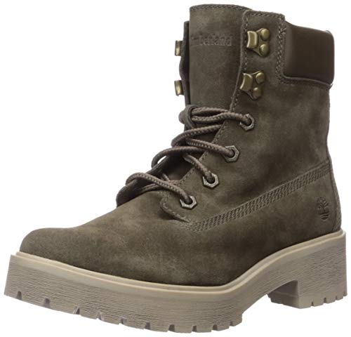 Timberland Women's Carnaby Cool 6' Boot Boot, Olive Suede, 080M M US