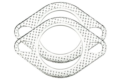 CarXX 2.75 Inch Exhaust Gasket 2-Bolt 70mm Flange High Temperature...