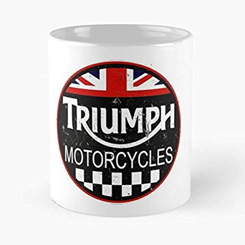 Triumph Motorcycle Classic Vintage - Morning Coffee Mug Ceramic Novelty Holiday FP6OBN