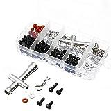 Ogquaton 270 in 1 Special Repair Tool u0026 Schrauben Box Set für 1/10 HSP RC Auto DIY Hohe Qualität -