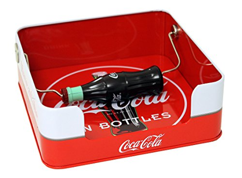 The Tin Box Company Coca Cola Flat Napkin Holder Red