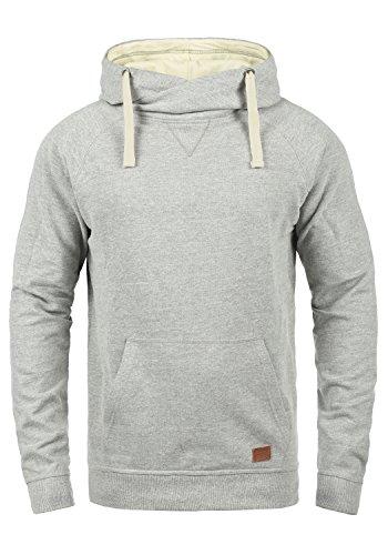 Blend Sales Herren Kapuzenpullover Hoodie Pullover mit Kapuze, Größe:XL, Farbe:Zink Mix (70815)