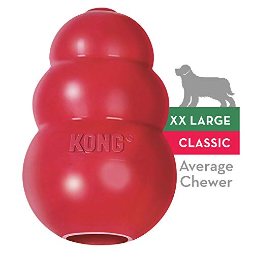 KONG - Classic Dog Toy - Durable Natural...