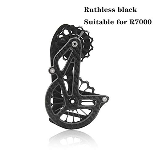 BIKERISK Strada Bici Bicicletta deragliatore Oversize puleggia Rotella Cage Sistema per Shimano R7000 / R9100 / R9150 Ultegra R8000 / R8050 ECC SRAM Etap,4