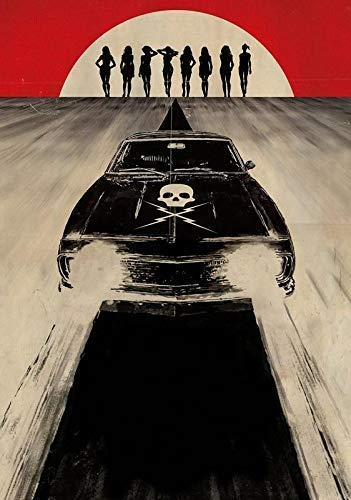 Desconocido Death Proof Movie Póster Foto Quentin Tarantino Grindhouse Textless 002 (A5-A4-A3) - A4