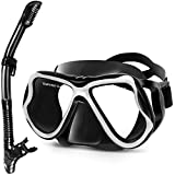 Best Diving Masks - Greatever Dry Snorkel Set,Panoramic Wide View,Anti-Fog Scuba Diving Review