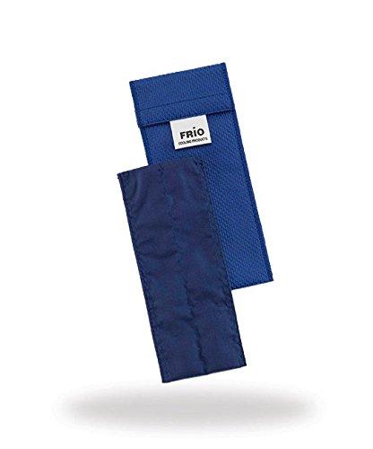 Frio enkele koeltas voor Insulin, 6,5 x 18 cm blauw
