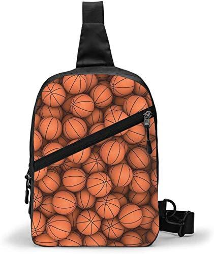 Bolsa de baloncesto para manualidades, bandolera para el hombro, para senderismo, viajes, para mujeres, hombres, resistencia al agua
