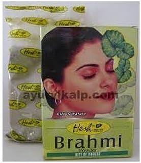 Hesh Pharma 100% Natural Herb Powder 100gm (3.5oz) (BRAHMI POWDER, 2 PACK)