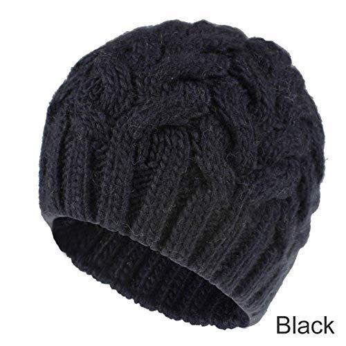 Modische Mütze Winter Strickmützen für Frauen Mode Warm halten Handgestrickte Ohrenschützer Weiche Hüte Mädchen Mütze
