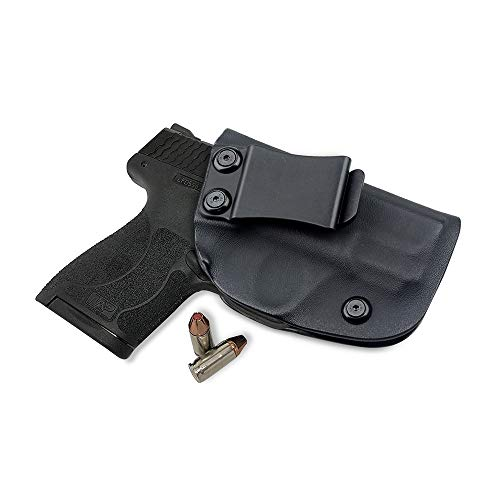 L-Yune, Caza Funda Negro Pistolera for Smith Wesson M & PShield 9MM / .40 S & Carry WConcealed Pistola Fundas (Color : Negro)