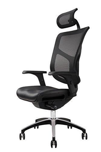 UPLIFT Desk - J3 Ergonomic Chair (Black)