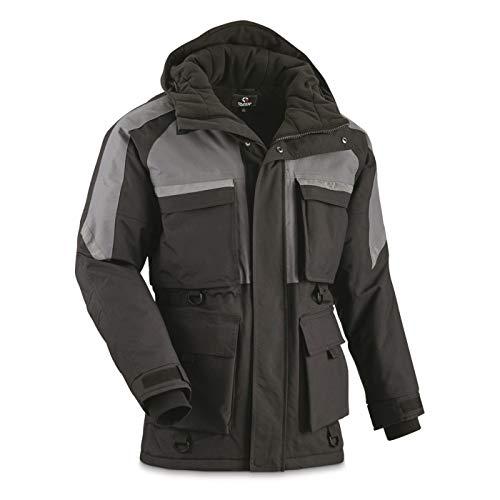 Guide Gear Men's Heavyweight Fleece Base Layer Union Suit, Olive Brown, Medium