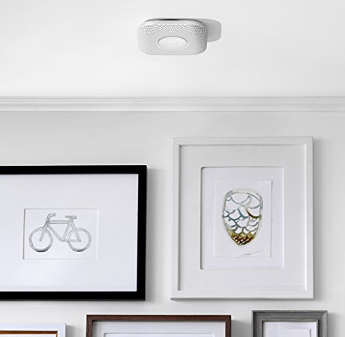 Google S3000BWES Nest Protect, 2nd Generation, White, Battery, 1