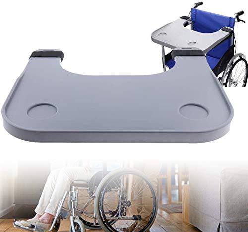 QMZDXH Rollstuhlablage, Rollstuhlablage Tisch Mit Getränkehalter Rollstuhlzubehör Zum Schreiben, Lesen Und Essen