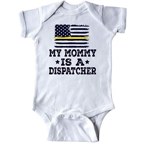 inktastic Dispatcher Mom Emergency Infant Creeper 18 Months White 34553