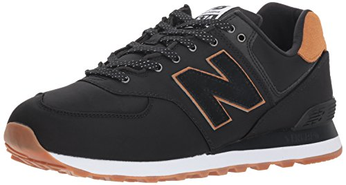 New Balance Sneaker Herren ML574ESE Schwarz Black, Schuhgröße:41.5