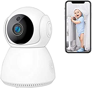 Eleadsouq 1080p Home Security Camera Surveillance System Supports Wifi Emergency Response Night Vision iOS Android App Ava...