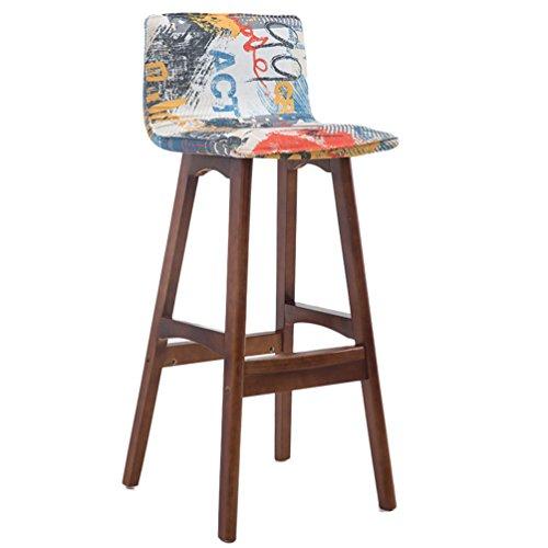 Silla contemporánea Silla de la caja registradora, barra de madera del hogar mostrador de respaldo creativo sillón bar restaurante tienda de ropa para el hogar silla para bar silla de recepción