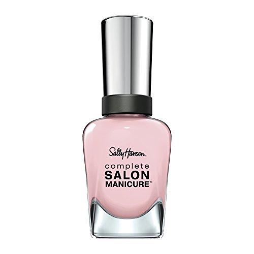 Sally Hansen Complete Salon Manicure Nagellack, Blush Against the World, limitierte Edition mit Keratinkomplex und glänzendem, Farbe 182, Rosa, 1er Pack (1 x 14,7 ml)