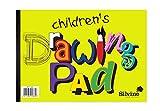 Other Silvine - Bloc de Dibujo para niños (tamaño A4, 20 Hojas de 80 g/m², 210 x 297 mm)