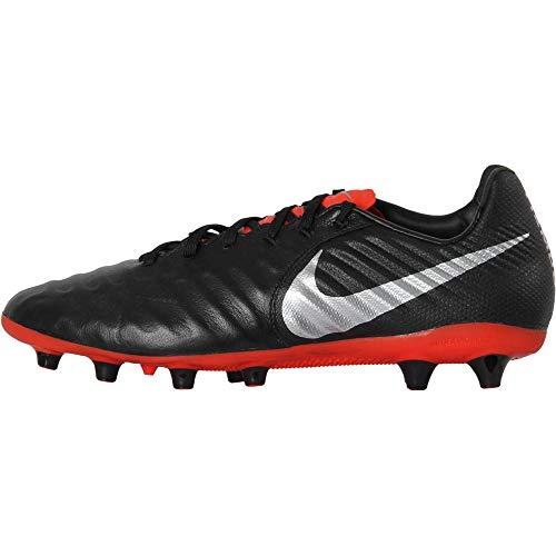 Nike Legend 7 AG-Pro, Zapatillas Hombre, Multicolor (Black/Metallic Silver/Lt Crimson 001), 41 EU