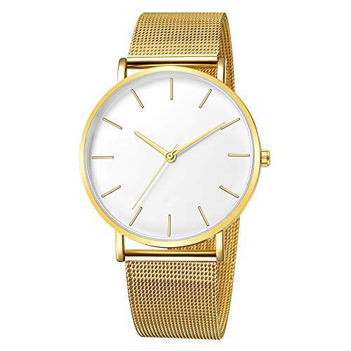Hansee Herren-Armbanduhr, Legierung, elegant, klassisch, minimalistisch, Geschenk Gr. Einheitsgröße, B