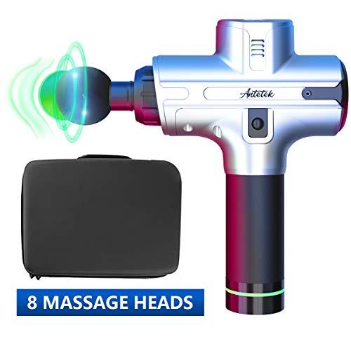 Muscle Massage Gun,Upgraded Muscle Massager,Deep Tissue Muscle Massager,Cordless Percussion Massager 2019