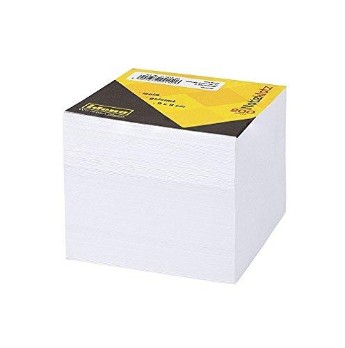Idena 311010 - Notizklotz geleimt, 9 x 9 cm, 70 g/m², 800 Blatt, weiß, 1 Stück