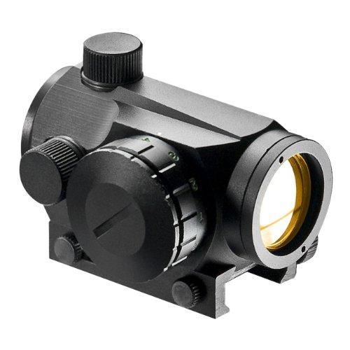 BARSKA 1x20mm Green/Red Dot with Dovetail/Weaver Exchangeable Base