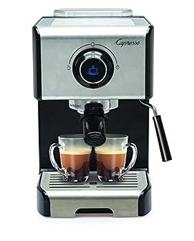 Capresso EC300 Cappuccino Espresso Machine 42 Stainless Steel/Black