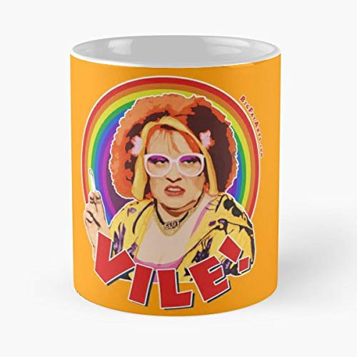 92Wear Kathy Burke Vile Gimme Linda La Hughes Rainbow Flag Equal - Best 11 oz Taza De Café - Taza De Motivos De Café