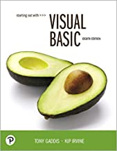 Starting Out With Visual Basic (8th Edition)