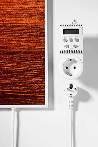 Könighaus Fern Infrarotheizung – Bildheizung in HD Qualität mit TÜV/GS – 200 Bilder – 450 Watt (45. Sonnenuntergang Meer) Bild 2*