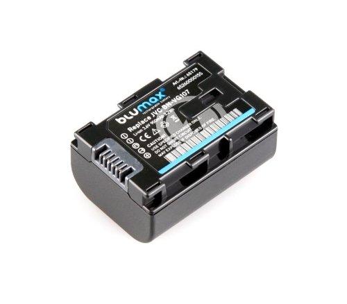 Li-Ion accu BN-VG107 met info-chip voor JVC Everio camcorder - 100% compatibel, duurzaam, betrouwbaar, lage zelfontlading, bescherming tegen kortsluiting, overspanning en oververhitting, zonder geheugeneffect